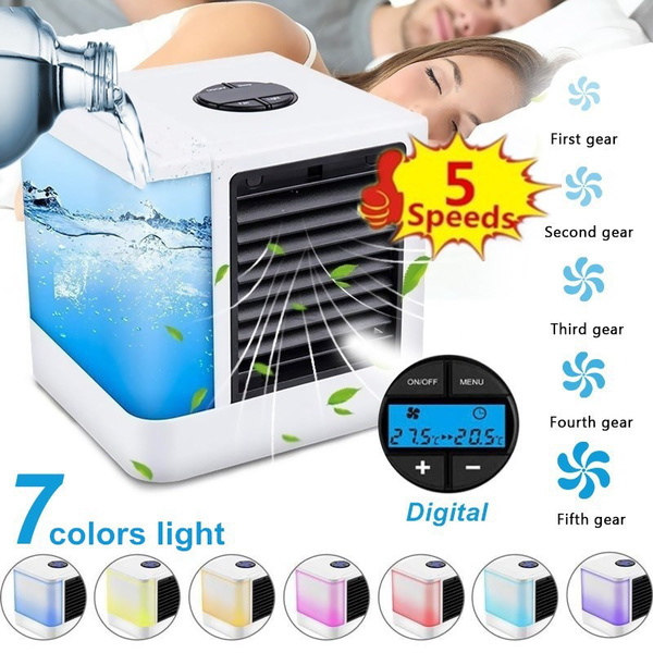 air conditioner, portablefan, led, usb