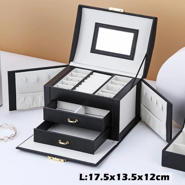 Box, case, jewelrycase, leather