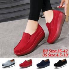 wedge, shakeshoe, Plus Size, Platform Shoes