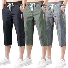 Summer, croppedpantsforman, pants, quickdryingpant