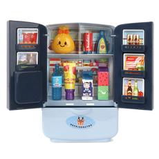 Door, pretendplaykitchentoy, refrigeratortoy, Kitchen Accessories
