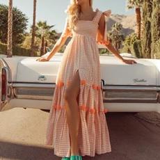 Women's Fashion, Summer, Elegant, long dress