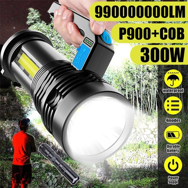 Flashlight, led, usb, Outdoor Sports