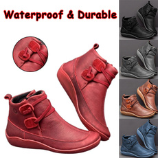 ankle boots, Plus Size, shoes for womens, botine