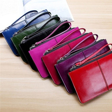 leather wallet, wriststrapwallet, Fashion, Bags
