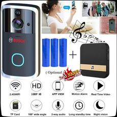 doorbell, nightvisionsmartdoorbell, Tops, wirelessdoorbell