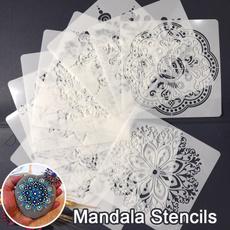 scrapbookingandpapercraft, stencil, mandalastencil, Craft Kits