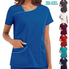 blouse, medicalclothe, careworker, withpocket