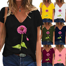 ladyshirt, Plus Size, Women Blouse, short sleeves