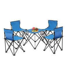 Steel, Blues, camping, picnicchair