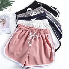 Summer, Plus Size, pants, slim