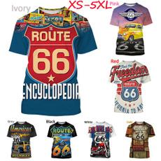 route66, Mens T Shirt, Fashion, Sleeve