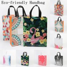flamingo, Totes, Tote Bag, foldingbag