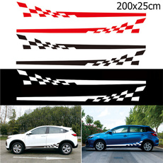 Car Sticker, plaid, Cars, Stickers
