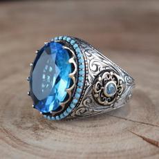 Sterling, Turquoise, Fashion, wedding ring