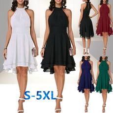 Sleeveless dress, Fashion, halter dress, short dress