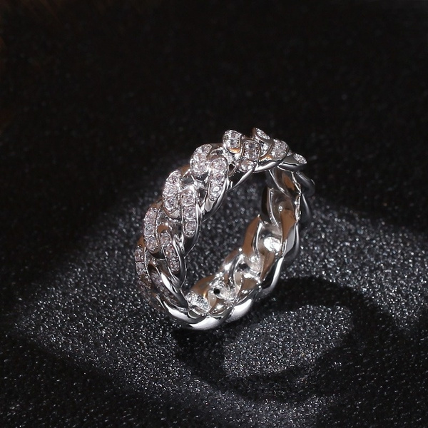 Goth, hip hop jewelry, wedding ring, gold