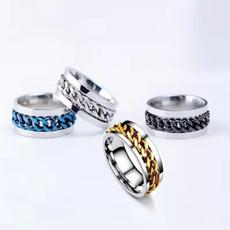 Fashion, wedding ring, Chain, Simple