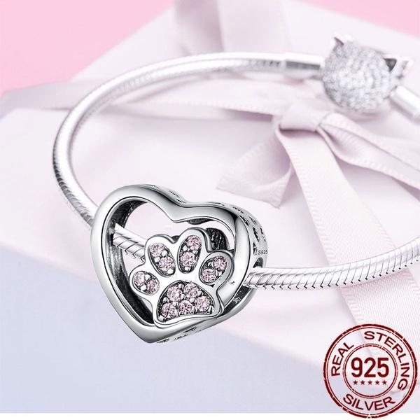 Sterling, Heart, Jewelry Accessory, braceletacces