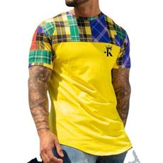 Summer, slim, summer t-shirts, short sleeves