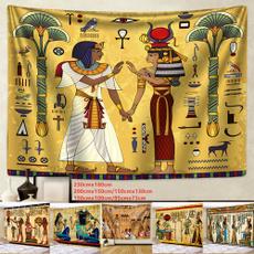 egyptiantapestry, Decor, Wall Art, tapestryhippie