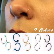 Steel, stuffynose, Jewelry, 8MM