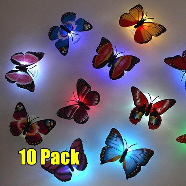 butterfly, cute, Decor, led
