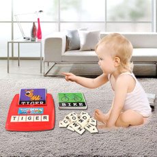 kidslearningtoy, letterspellingtoy, Home & Living, spellingtoy