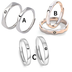 Couple Rings, ringsformen, Star, wedding ring