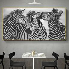 Decor, Oil, Wall Art, Home