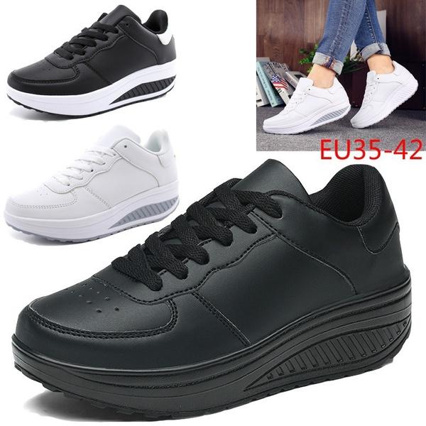 Sneakers, Plus Size, Platform Shoes, leather shoes