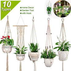 Plants, Hangers, planthangermacrame, Home Decor