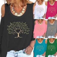 fashion women, Fashion, Graphic T-Shirt, Sleeve