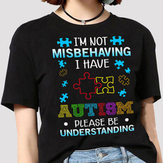 Funny, autismtshirtsformen, Fashion, Shirt