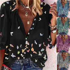 shirtsforwomen, butterfly, Fashion, blusasfeminina