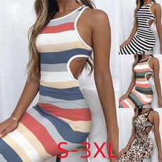 Summer, Fashion, bodycondresseswomen, slimbodycondresse