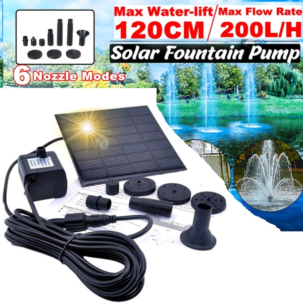 pondfountain, Solar, Gardening Tools, waterfountain