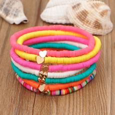 Heart, waxropebracelet, Jewelry, Gifts