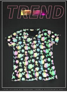 reflectivetshirt, Colorful, Sleeve, rosetshirt