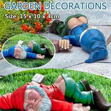 Funny, gardengnome, gnomesstatue, Gardening