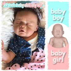 Head, dollmold, rebornbabydollkit, doll