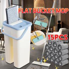 flatbucketmop, flatsqueezemop, Cleaning Supplies, mopsecchiopiatto