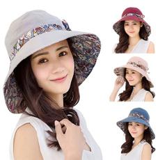 Foldable, Fashion, cottonhat, reversiblehat