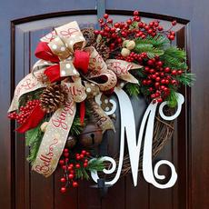 Home & Kitchen, Door, Garland, christmaswreath