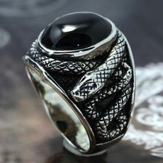 Sterling, Fashion, 925 sterling silver, snakering