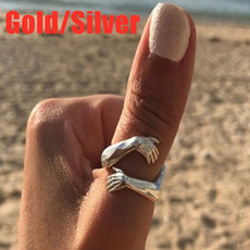 Sterling, Jewelry, 925 silver rings, gold