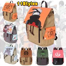 student backpacks, sharingan, uzumakinaruto, drawstring backpack