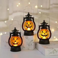 decoration, Holiday, pony, pumpkinlamp