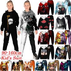 kidshoodieset, 3D hoodies, Anime & Manga, Fashion