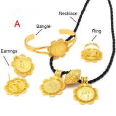 jewelrysetsforwomen, weddingbridalset, Jewelry, gold